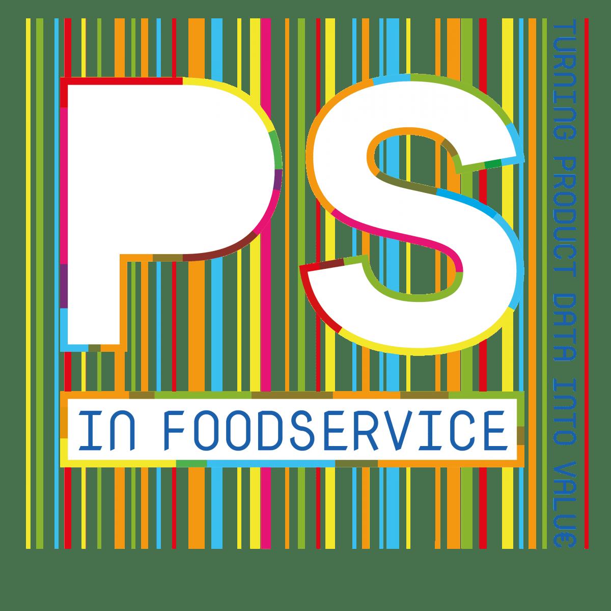 logo ps in foodservice met slogan